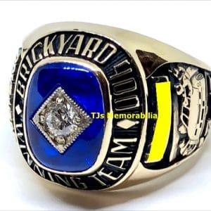 1999 BRICKYARD 400 WINNERS CHAMPIONSHIP RING