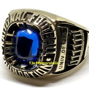 1992 COLLEGE NATIONAL FOOTBALL FOUNDATION HALL OF FAME RING – FLORIDA GATORS JACK YOUNGBLOOD