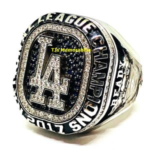 2017 Los Angles Dodgers National League Championship Ring