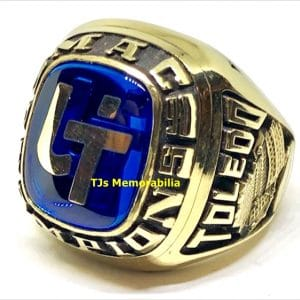1990 TOLEDO ROCKETS MAC FOOTBALL CHAMPIONSHIP RING