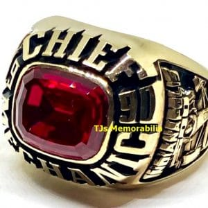 1990 INDIANAPOLIS INDY 500 CHIEF MECHANIC WINNERS CHAMPIONSHIP RING
