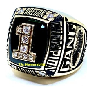 1994 OREGON DUCKS FOOTBALL PAC TEN CHAMPIONSHIP RING