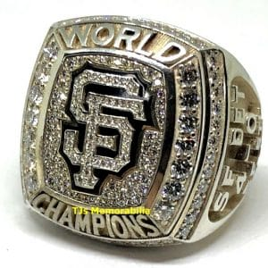 2012 SAN FRANCISCO SF GIANTS WORLD SERIES CHAMPIONSHIP RING