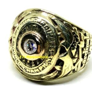 1942 ST LOUIS CARDINALS WORLD SERIES CHAMPIONSHIP RING