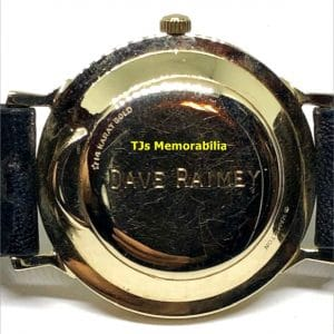 1964 CLEVELAND BROWNS WORLD CHAMPIONS CHAMPIONSHIP WATCH NOT RING