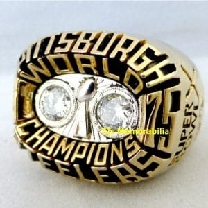 1975 PITTSBURGH STEELERS SUPER BOWL X CHAMPIONS CHAMPIONSHIP RING
