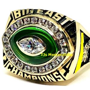 1994 U OF MIAMI HURRICANES BIG EAST FOOTBALL CHAMPIONSHIP RING