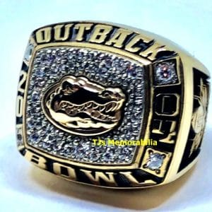 2004 FLORIDA GATORS OUTBACK BOWL CHAMPIONSHIP RING
