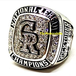 2007 COLORADO ROCKIES NL CHAMPIONSHIP RING