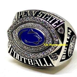 2010 PENN STATE NITTANY LIONS JOE PATERNO WIN # 400 OUTBACK BOWL CHAMPIONSHIP RING