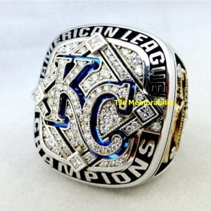 2014 KANSAS CITY KC ROYALS AMERICAN LEAGUE CHAMPIONSHIP RING