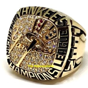 2001 NEW YORK YANKEES AMERICAN LEAGUE CHAMPIONSHIP RING
