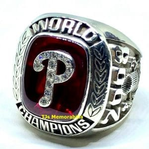 2008 PHILADELPHIA PHILLIES WORLD SERIES CHAMPIONSHIP RING STAFFER