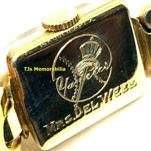 1949 NEW YORK NY YANKEES WORLD SERIES CHAMPIONSHIP WATCH NOT RING