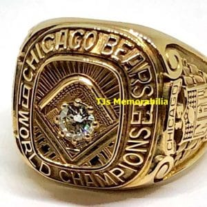 1963 CHICAGO BEARS FOOTBALL WORLD CHAMPIONSHIP RING