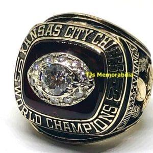 1969 KANSAS CITY KC CHIEFS SUPER BOWL IV CHAMPIONSHIP RING