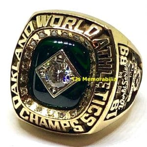 1989 OAKLAND ATHLETICS A'S WORLD SERIES CHAMPIONSHIP RING