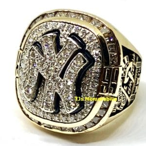 1999 NEW YORK NY YANKEES WORLD SERIES CHAMPIONSHIP RING