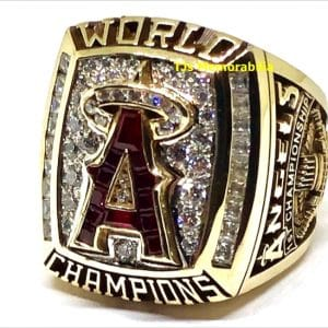 2002 ANAHEIM ANGELS WORLD SERIES CHAMPIONSHIP RING
