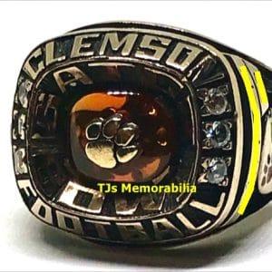 2009 CLEMSON TIGERS GATOR BOWL CHAMPIONSHIP RING