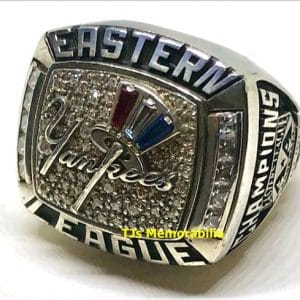 2013 TRENTON THUNDER NY YANKEES EASTERN LEAGUE CHAMPIONSHIP RING
