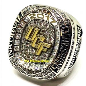 2017 UNIVERSITY OF CENTRAL FLORIDA UCF KNIGHTS 50TH ANNIVERSARY CHICK FIL A BOWL NATIONAL CHAMPIONSHIP RING