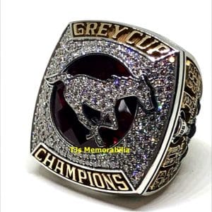 2018 CALGARY STAMPEDERS CFL GREY CUP CHAMPIONSHIP RING