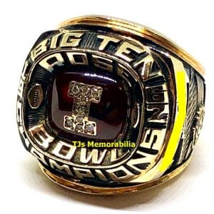 1967 INDIANA HOOSIERS FOOTBALL BIG TEN CHAMPIONSHIP RING