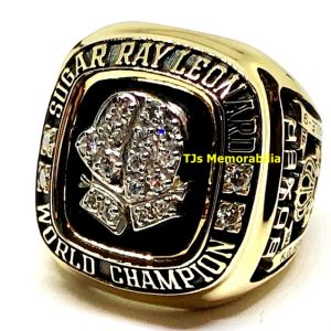 1981 SUGAR RAY LEONARD BOXING WORLD CHAMPIONSHIP RING