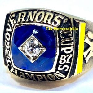 1987 COLUMBUS CLIPPERS NY YANKEES GOVERNORS CUP CHAMPIONSHIP RING