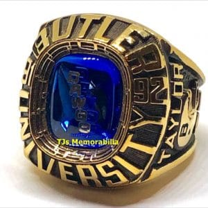 1992 BUTLER BULLDOGS BACK TO BACK MIFC CHAMPIONSHIP RING