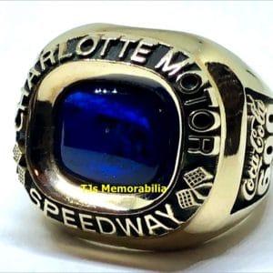 1994 CHARLOTTE MOTOR SPEEDWAY COCA COLA 600 WINNERS CHAMPIONSHIP RING