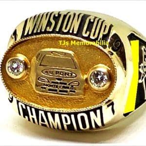 1997 NASCAR WINSTON CUP WINNERS CHAMPIONSHIP RING