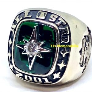 2001 MLB MAJOR LEAGUE BASEBALL ALL STAR GAME CHAMPIONSHIP RING