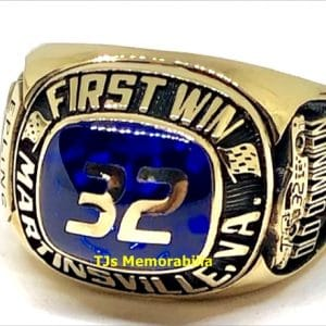 2001 NASCAR OLD DOMINION 500 WINNERS CHAMPIONSHIP RING