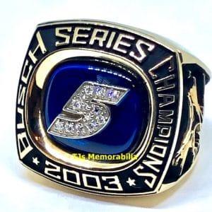 2003 NASCAR BUSCH SERIES CHAMPIONSHIP RING