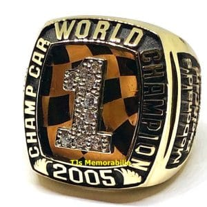 2005 ICART SEASON INDY WINNERS WORLD CHAMPIONSHIP RING PAUL NEWMAN / HAAS RACING