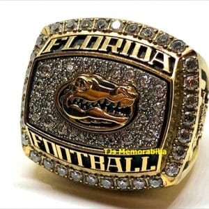 2012 FLORIDA GATORS TAX SLAYER GATOR BOWL CHAMPIONSHIP RING
