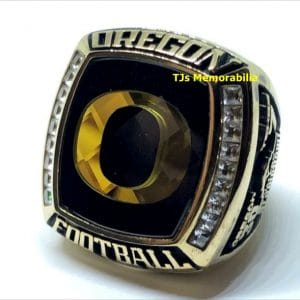2013 OREGON DUCKS FOOTBALL ALAMO BOWL CHAMPIONSHIP RING