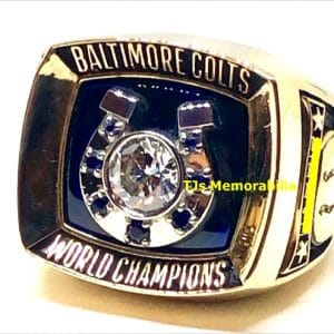 1970 BALTIMORE COLTS SUPER BOWL V CHAMPIONSHIP RING