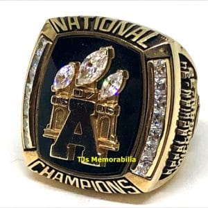 2005 APPALACHIAN STATE MOUNTAINEERS FOOTBALL NATIONAL CHAMPIONSHIP RING