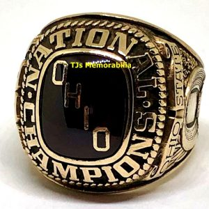 1968 OHIO STATE BUCKEYES FOOTBALL NATIONAL CHAMPIONSHIP RING