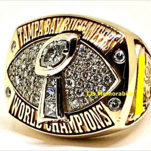 2002 TAMPA BAY BUCCANEERS SUPER BOWL XXXVII CHAMPIONSHIP RING