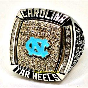 2012 NORTH CAROLINA TAR HEELS FOOTBALL ACC COASTAL CHAMPIONSHIP RING