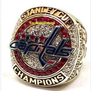 2018 WASHINGTON CAPITALS STANLEY CUP CHAMPIONSHIP RING WITH PRESENTATION BOX