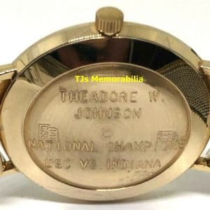 1968 USC TROJANS ROSE BOWL CHAMPIONSHIP WATCH NOT RING