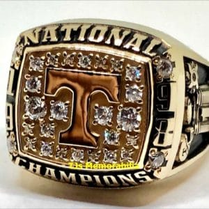 1998 TENNESSEE VOLUNTEERS VOLS FOOTBALL NATIONAL CHAMPIONSHIP RING