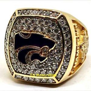 2013 KANSAS STATE WILDCATS FOOTBALL BUFFALO WILD WINGS BOWL CHAMPIONSHIP RING