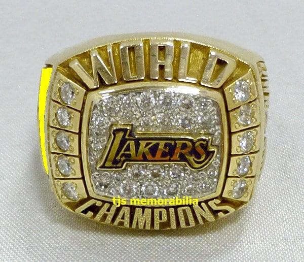 2000 Los Angeles Lakers Nba World Championship Ring Buy And Sell Championship Rings