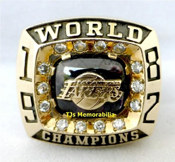 1982 Los Angeles Lakers Nba Championship Ring Buy And Sell Championship Rings